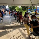 Inicia vacunación contra COVID-19 a fronterizos mayores de 18 años en Tamaulipas