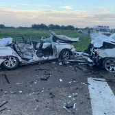 Fallecen dos menores en accidente vehicular en Edinburg