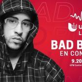Bad Bunny ofrecerá concierto gratuito en YouTube