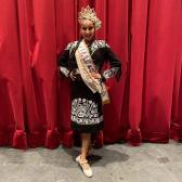 Reynosense gana corona para Tamaulipas en Miss Folklor 2021