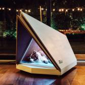 """Ford crea """"casitas de perros"""" que eliminan los ruidos de los fuegos artificiales"""