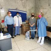 DIF Reynosa entregó donación a la Clínica del ISSSTE