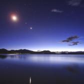 """Eclipse penumbral de luna creará un """"triángulo de verano"""""""