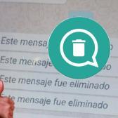 Ahora ya podrás leer los mensajes eliminados por otro usuario