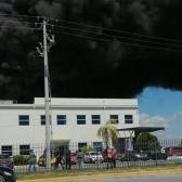 Se incendia maquiladora en Parque Villa Florida