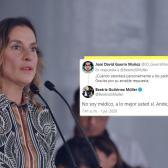 ¿Y la empatía? Tunden en redes a Beatriz Gutiérrez Müller tras contestación en twitter