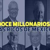 Conoce la lista de los 12 millonarios más ricos de México