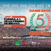 GP de México gana el mejor evento de la F1 por quinto año consecutivo