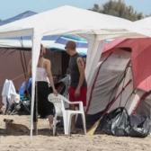 Detienen a grupo que acampaba en playas de Sinaloa