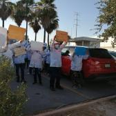 Continúan protestas en maquiladoras por temor a contagios