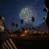 Exhibición de fuegos artificiales por el 4 de Julio solo será vista desde autos: McAllen