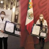 Orgullo para Tamaulipas, ellas son las 2 médicos condecoradas por su labor en pandemia