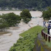 200 mil personas fueron evacuadas en Japón por fuertes lluvias