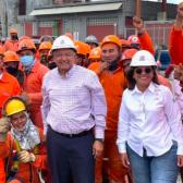 Supervisa AMLO trabajos en refinerías de Monterrey y Veracruz