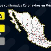 Suman mil 94 casos confirmados y 28 muertes en el país
