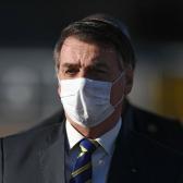 Confirma Jair Bolsonaro que ha dado positivo a la prueba del coronavirus