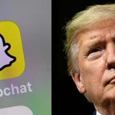 """Snapchat dejará de promocionar perfil de Trump por """"incitar a la violencia"""""""