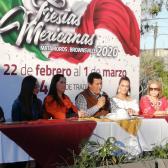 """Entregan Llaves de la ciudad a Edith Márquez Valor Nacional """"Fiestas Mexicanas"""" Matamoros 2020"""