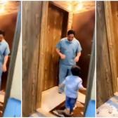 Enfermero rompe en llanto al rechazar abrazo de su hijo ante pandemia