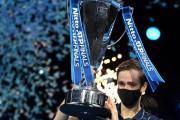 Daniil Medvedev se corona en la Copa Masters de la ATP