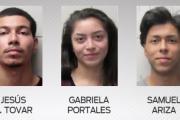 Arrestan a tres presuntos responsables de robo y secuestro en Harlingen