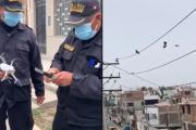 Rescatan con dron a paloma atorada en cables de electricidad