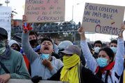 Buscan a 168 desaparecidos tras las manifestaciones en Colombia