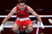 Boxeador irlandés se lesiona en festejo y se priva del oro en JJ.OO.