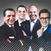 Rodolfo Vargas, Martinoli, Luis García y Toño Rosique