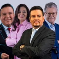 Jesús Mendoza, Lupita Juárez, Salvador y Sergio Sarmiento
