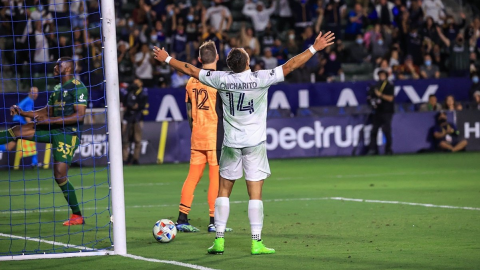"""Anota """"Chicharito"""" Hernández en el triunfo del LA Galaxy ante Timbers"""