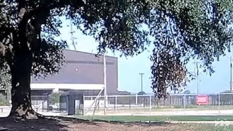 Publican video del momento exacto del accidente de la avioneta en Texas