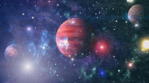 Encuentran conjunto de planetas fuera de la galaxia