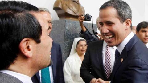 Japón notifica a Venezuela su apoyo a Guaidó como presidente