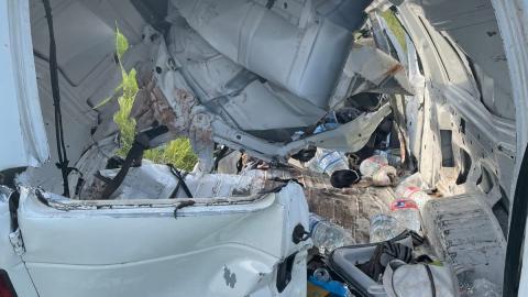 Choque de camioneta con migrantes en Texas deja 11 muertos