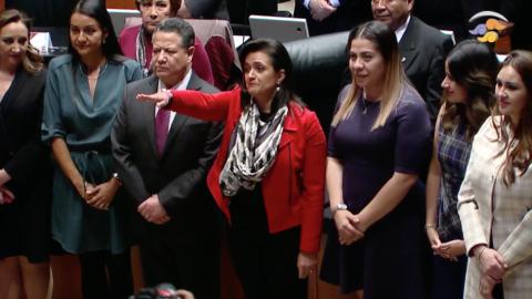 Margarita Ríos-Farjat es elegida ministra de la SCJN