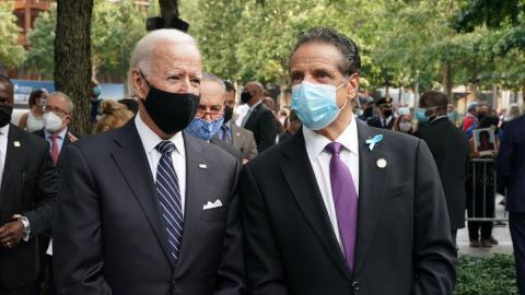 Joe Biden pide renuncia de Andrew Cuomo por acusaciones de acoso sexual