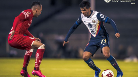 América le pega al diablo en su debut de la Copa GNP por México