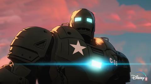 """Nuevo tráiler de """"What if"""" muestra a Steve Rogers como el primer Iron Man"""