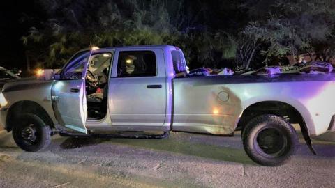 Patrulla Fronteriza detiene a vehículo que supuestamente transportaba indocumentados