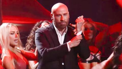 El baile de John Travolta en los Premios lo Nuestro