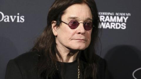 Ozzy Osbourne cancela su gira en EU por problemas de salud
