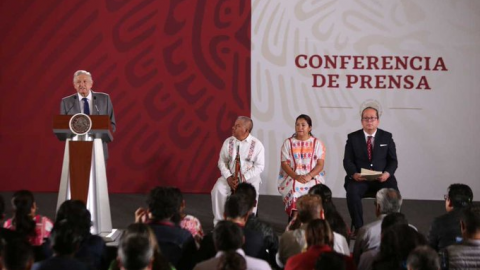 """""""El Chapo"""", subasta, sismos, esto y más en conferencia de AMLO"""