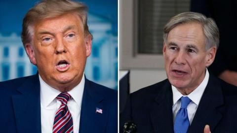 Trump y Abbott visitarán la frontera el 30 de junio