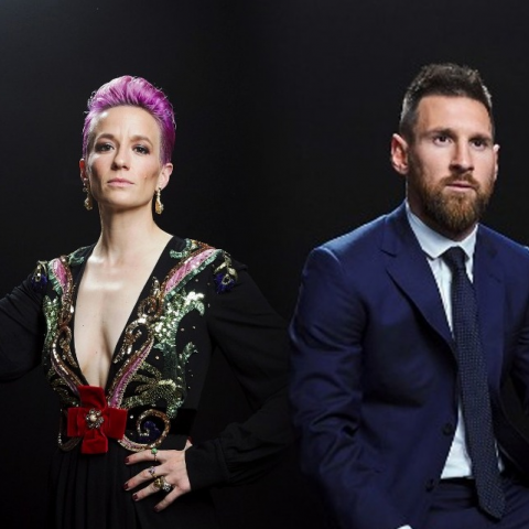 Messi y Rapinoe se llevan The Best 2019