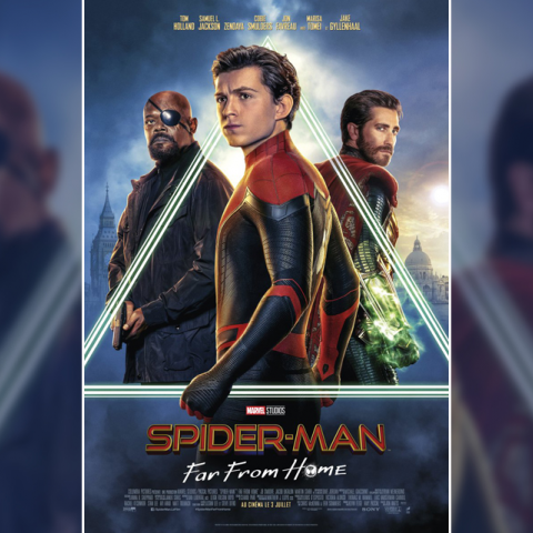 Nuevos pósters de 'Spider-Man: Far From Home'