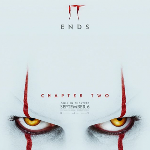"Revelan el nuevo póster para ""IT: Chapter Two"""