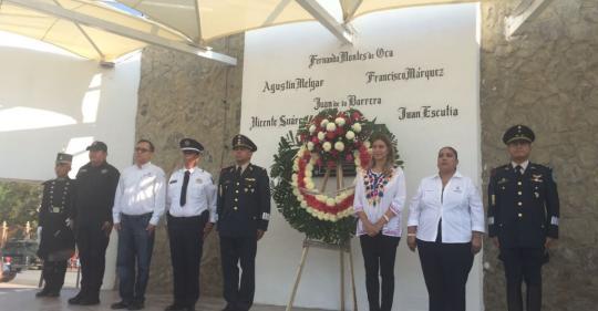 Foto complementaria de Recuerda Reynosa gesta heroica de los Niños Héroes