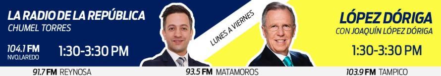 Horario: Chumel - López Dóriga