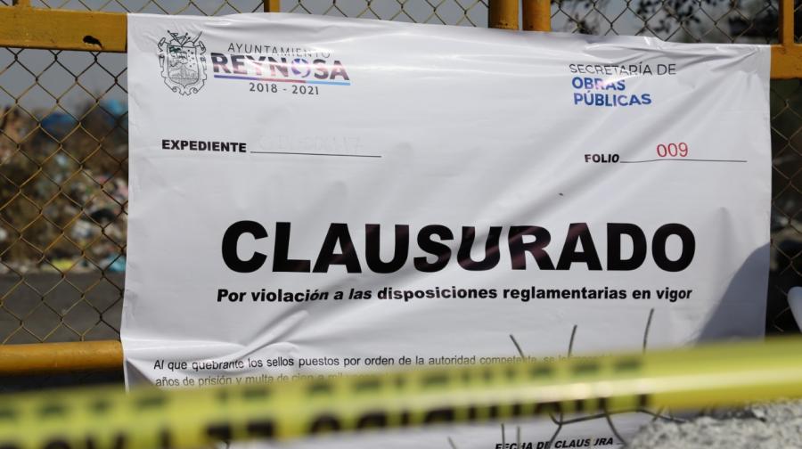 Clausura Municipio basurero irregular de Corrales